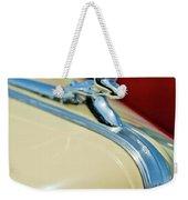 1940 Packard Hood Ornament Weekender Tote Bag by Jill Reger
