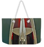 1948 Pontiac Chief Hood Ornament Weekender Tote Bag