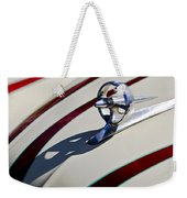 1949 Custom Buick Hood Ornament Weekender Tote Bag