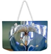 1949 Mercury Woody Wagon Hood Ornament Weekender Tote Bag