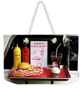 1950's Drive-in Weekender Tote Bag