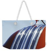 1952 Pontiac Tin Woodie Wagon Hood Ornament Weekender Tote Bag