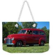 1953 Chevrolet Suburban Weekender Tote Bag