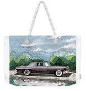 1956  Lincoln Continental Mk II Weekender Tote Bag