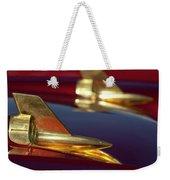 1957 Chevrolet Hood Ornament Weekender Tote Bag