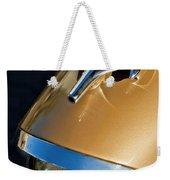 1957 Oldsmobile Super 88 Hood Ornament Weekender Tote Bag