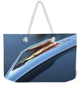 1959 Cadillac Eldorado Hood Ornament Weekender Tote Bag