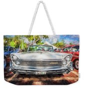 1959 Lincoln Continental Town Car Mk Iv Painted  Weekender Tote Bag