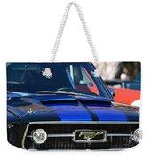 1967 Mustang Fastback Weekender Tote Bag