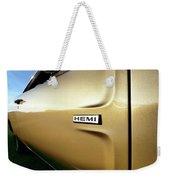 1968 Dodge Charger Hemi Weekender Tote Bag