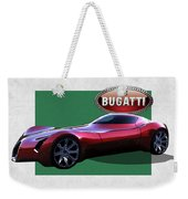 2025 Bugatti Aerolithe Concept With 3 D Badge  Weekender Tote Bag