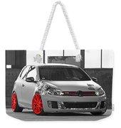 246062 Car Golf Gti Volkswagen Golf Vi Wheels Weekender Tote Bag