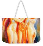 3 Graces Weekender Tote Bag
