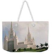 #4 San Diego Temple Weekender Tote Bag