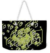 3d Futuristic Bg IIi Weekender Tote Bag