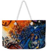 4dpictfdrew3 Marc Chagall Weekender Tote Bag