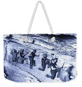 500-feet Level Sulphate Stope Tombstone Consolidated Mine 1904-2013 Weekender Tote Bag