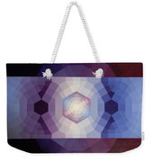 #65 Violet Field Weekender Tote Bag