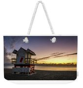 7901- Miami Beach Sunrise  Weekender Tote Bag