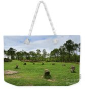 9 Ladies Stone Circle, Stanton Moor, Peak District National Park Weekender Tote Bag