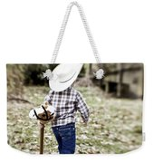 A Boy And His Horse Weekender Tote Bag