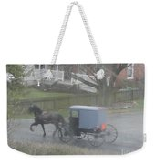 A Buggy Passes By Weekender Tote Bag
