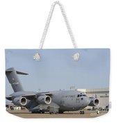 A C-17 Globemaster IIi Parked Weekender Tote Bag