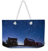 A Cold Winter Night Weekender Tote Bag