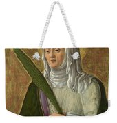 A Female Saint Weekender Tote Bag