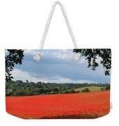 A Field Of Red Poppies Weekender Tote Bag