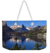 A Glacier Lake Weekender Tote Bag