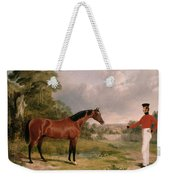 A Horse And A Soldier Weekender Tote Bag