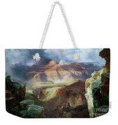 A Miracle Of Nature Weekender Tote Bag by Thomas Moran
