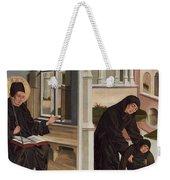 A Miracle Of Saint Benedict Weekender Tote Bag