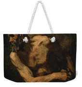 A Miser Study For Timon Of Athens Weekender Tote Bag