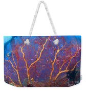 A Red Sea Fan With Purple Anthias Fish Weekender Tote Bag