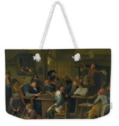 A Riotous Schoolroom With A Snoozing Schoolmaster Weekender Tote Bag