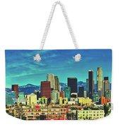 A Slice Of Los Angeles Weekender Tote Bag