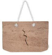 A Snake On The Dirt Weekender Tote Bag