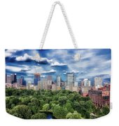 A Summer Day In Boston Weekender Tote Bag