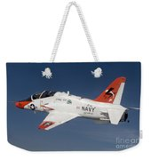 A T-45c Goshawk Training Aircraft Weekender Tote Bag