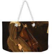 A Young Violoncellist Weekender Tote Bag