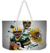 Aaron Rodgers Packers Weekender Tote Bag