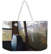 Abandoned Bus Weekender Tote Bag