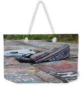 Abandoned Couch On The Graffiti Highway Weekender Tote Bag