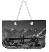 Abandoned Wagon In The High Sierra Nevada Mountains Weekender Tote Bag