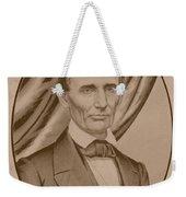 Abraham Lincoln Circa 1860  Weekender Tote Bag
