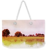 Abstract Beautiful Tree And Landscape For Background. Weekender Tote Bag