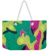 Abstract Camo Weekender Tote Bag