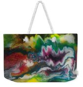 Abstract Resin Pour Weekender Tote Bag